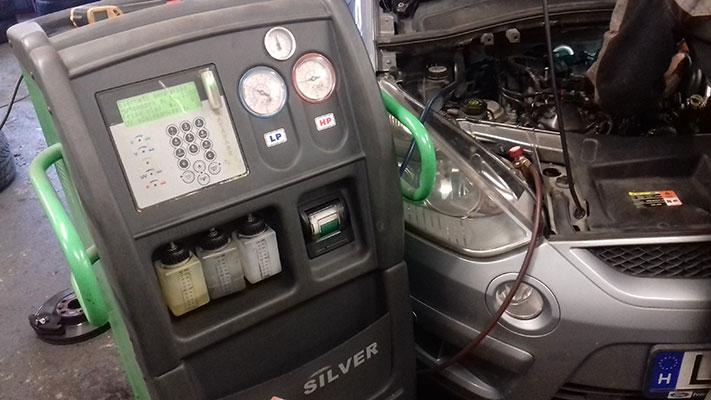Autó klímadiagnosztika